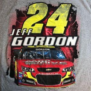 Jeff Gordon 24 Delta Pro Nascar Graphic T Shirt